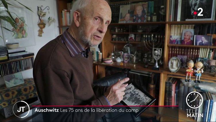 Saül Oren, ancien déporté juif (FRANCE 2)