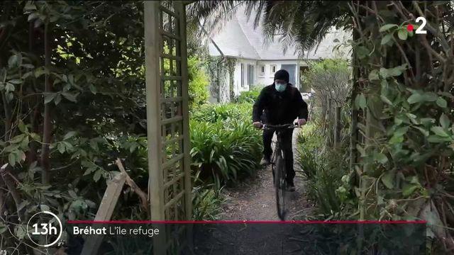Bréhat : l'île aux fleurs, sans voitures
