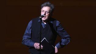 Philip Glass sur scène à Carnegie Hall, à New York, le 3 mars 2018  (Ilya S. Savenok / Getty Images / AFP)