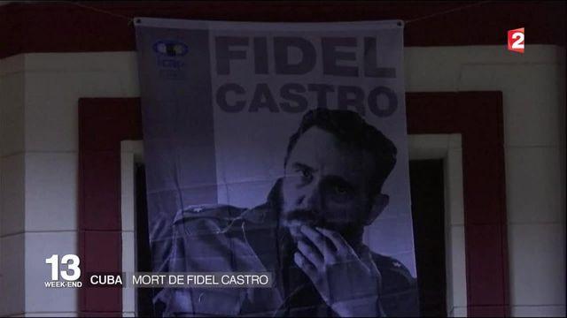 Cuba : mort de Fidel Castro