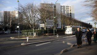 La commune de Sevran (Seine-Saint-Denis), le 7 janvier 2014. (PATRICK KOVARIK / AFP)