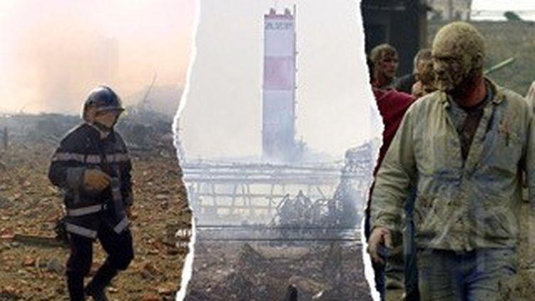 Vingt ans plus tard, franceinfo a recueilli les témoignages de ceux qui ont vécu l'explosion de l'usine AZF le 21 septembre 2001. (AFP)