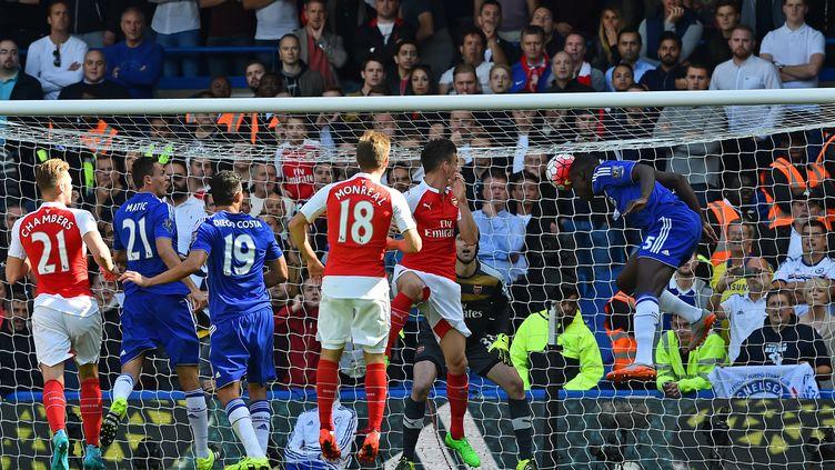 Kurt Zouma trouve la faille contre Arsenal (BEN STANSALL / AFP)