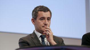 Le ministredes Comptes publics Gérald Darmanin, le 10 octobre 2019, àParis. (MICHEL STOUPAK / NURPHOTO / AFP)