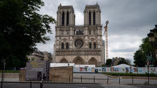 Lacathédrale Notre-Dame de Paris le 5 juin 2021. (RICCARDO MILANI / HANS LUCAS)