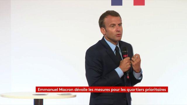"""Macron ne veut pas d'un plan banlieues fait par """"deux mâles blancs"""""""