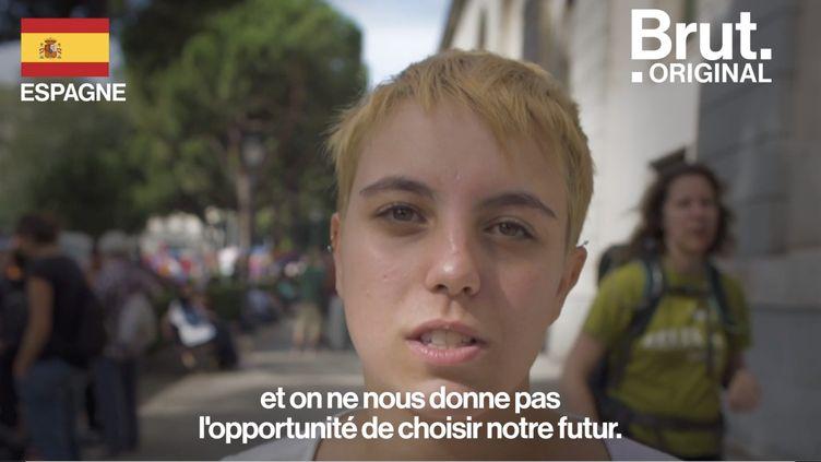 """VIDEO. Extinction Rebellion : """"On ne peut pas s'en tenir à des promesses vides de sens"""" (BRUT)"""