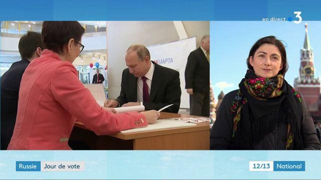 Élections en Russie : le scrutin à la mi-journée