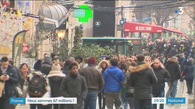 Démographie : la France compte 67 millions d'habitants