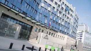 Le nouveau siège de la police judiciaire, au 36 rue du Bastion, dans le 17e arrondissement de Paris. (MAXPPP)