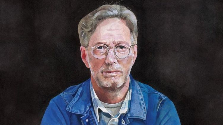 "Peter Blake a tiré le portrait d'Eric Clapton pour son nouvel album ""I Still Do""  (Peter Blake)"