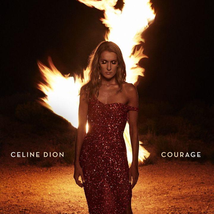 """La pochette de """"Courage"""", lenouvel album de Celine Dion. (COLUMBIA / SONY)"""