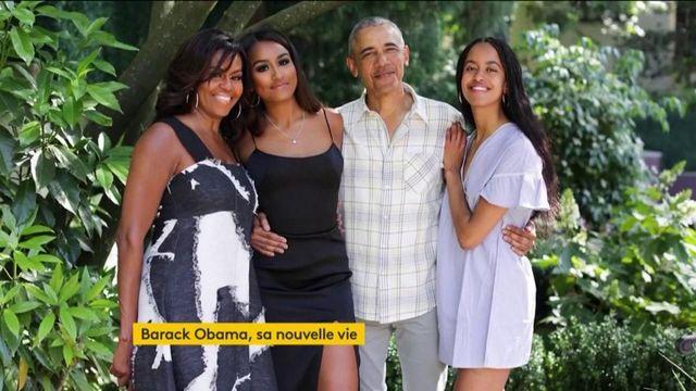 Etats-Unis : la nouvelle vie de Barack Obama
