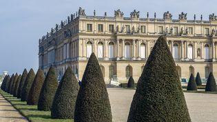 Vue extérieure du château de Versailles (Yvelines). (NORBERT SCANELLA / ONLY FRANCE / AFP)