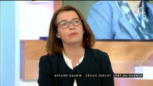 """Duflot parle de Denis Baupin : """"C'était un goujat oui !"""""""