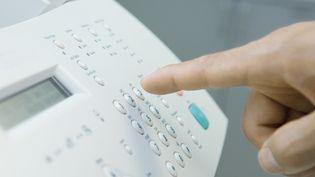 Un télécopieur (Fax). Photo d'illustration. (ODILON DIMIER / MAXPPP)