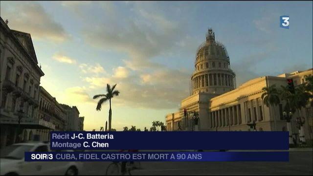 Cuba : Fidel Castro est mort