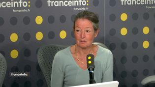 Odile Launay, infectiologue à l'hôpital Cochin à Paris, à franceinfo en mars 2019.  (FRANCEINFO / RADIO FRANCE)