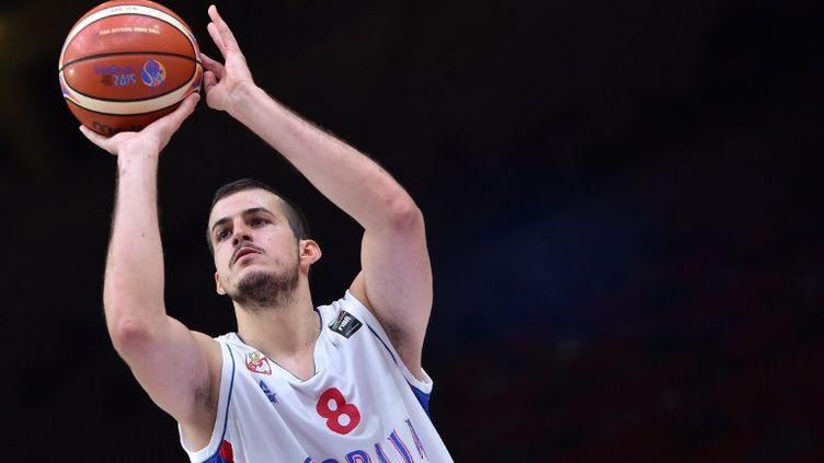 Nemanja Bjelica pourrait intégrer le cinq-type de l'EuroBasket 2015 (PHILIPPE HUGUEN / AFP)