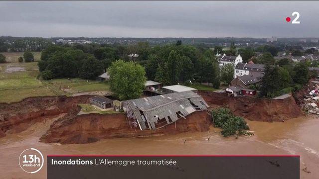 Allemagne : la nation traumatisée par des inondations