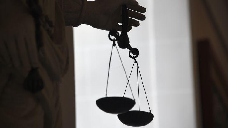 La balance de la justice (DAMIEN MEYER / AFP)