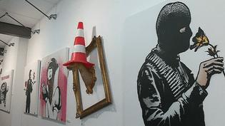 Goin expose en solo à Bayonne. Une colère sans visage qui éclate sur les murs...  (France 3 Culturebox)