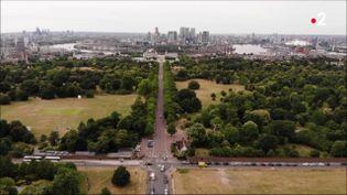 Le parc de Greenwich, à Londres(Royaume-Uni)est l'un des plus anciens parcs royaux de la capitale britannique. (france 2)