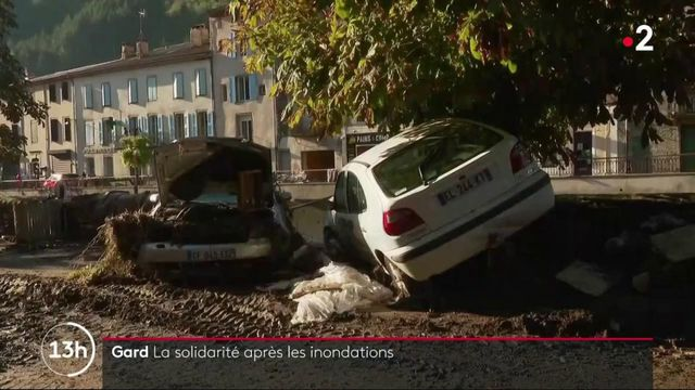 Inondations dans le Gard : un élan de solidarité pour aider les sinistrés