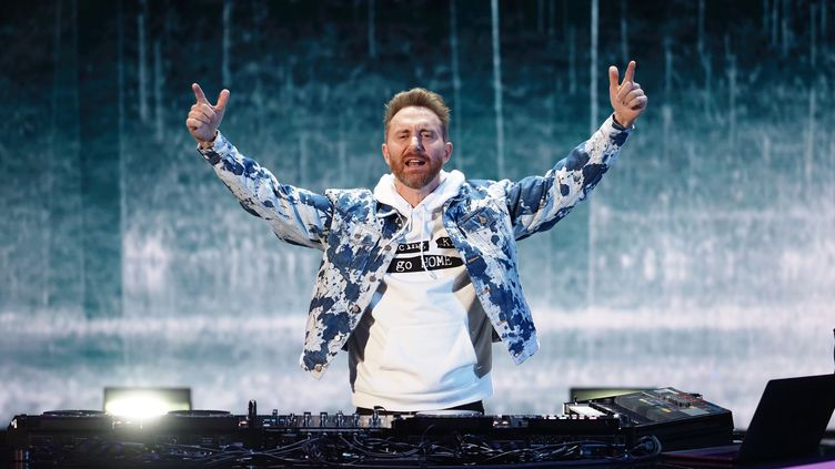 Le DJ David Guetta aux NRJ Music Awards à la Seine Musicale, le 5 décembre 2020 à Paris (France). (LAURENT VU / NMA2020 / SIPA)