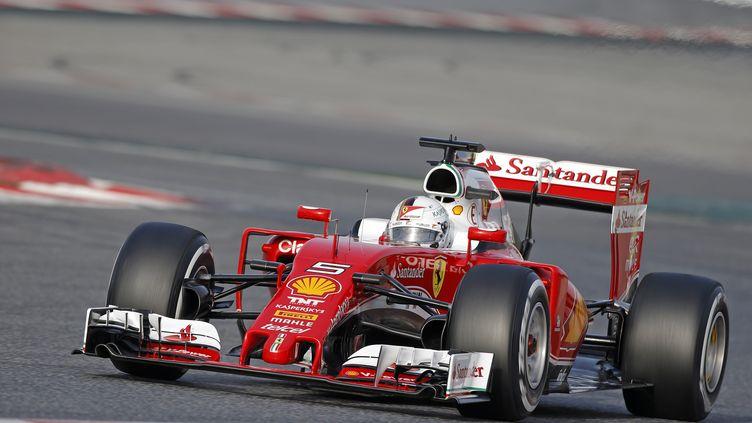 Sébastien Vettel (Ferrari) (FRANCOIS FLAMAND / DPPI MEDIA)
