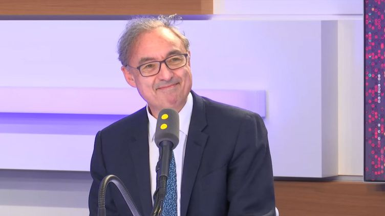 Bernard Spitz, sur franceinfo le 27 mai 2019. (FRANCEINFO / RADIOFRANCE)