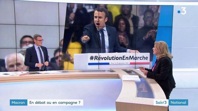 Grand débat national : Macron se bat pour garder le pouvoir