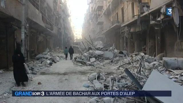 Syrie : l'armée de Bachar al-Assad prête à reprendre Alep