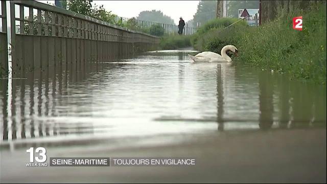 Crue et inondations : la Seine-Maritime en vigilance orange