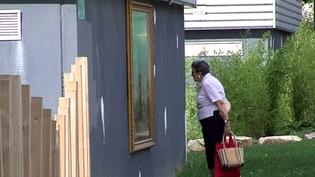 Le musée fait le mur dans le quartier des Province à Cherbourg  (France3 / Culturebox)