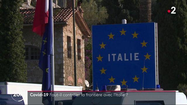 Covid-19 : pas de contrôle à la frontière franco-italienne