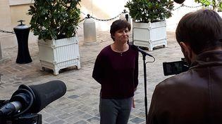 Roxana Maracineanu  (CÉCILIA ARBONA / RADIO FRANCE)