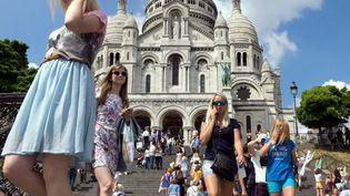 Le Sacré-Coeur est l'un des monuments les plus visités à Paris. (BRUNO LEVESQUE / MAXPPP)