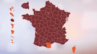 CARTE. Primaire de la gauche : découvrez qui de Benoît Hamon ou de Manuel Valls est arrivé en tête dans votre département (NICOLAS ENAULT)