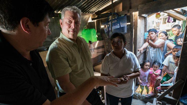 """""""Une suite qui dérange - le temps de l'action"""" : photo du film avec Al Gore  (Paramount Pictures France)"""