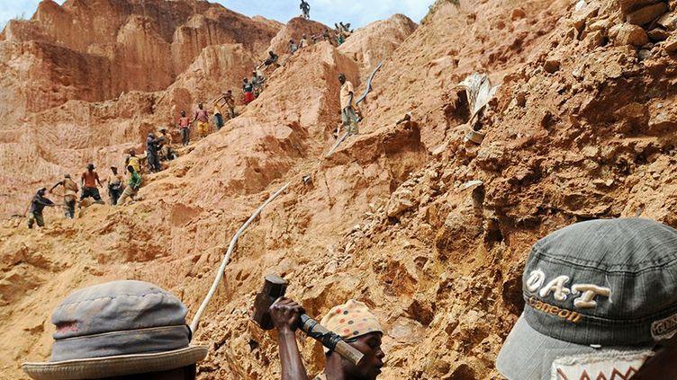 L'économie de la République Démocratique du Congo repose sur les matières premières (cuivre, cobalt, uranium, or, étain, coltan...) (AFP / LIONEL HEALING)