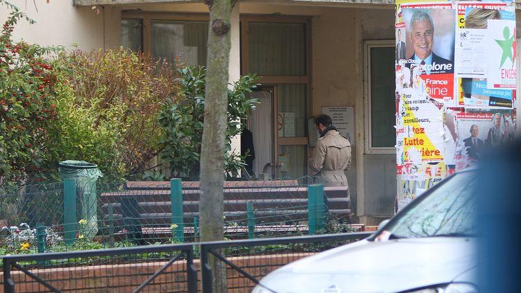 (L'école Jean Perrin a Aubervilliers où il disait avoir été agressé © William Abenhaim/SIPA)