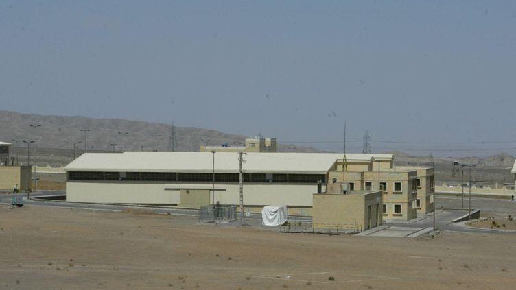 Le centre de recherche nucléaire de Natanz, en Iran, le 30 mars 2005. (HENGHAMEH FAHIMI / AFP)