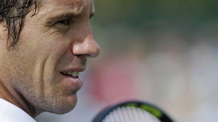 Le Français Richard Gasquet (ADRIAN DENNIS / AFP)
