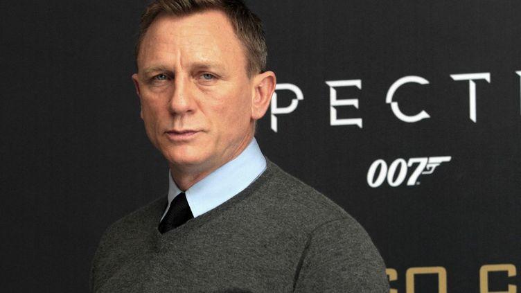 Daniel Craig, à Mexico City, le 24 août 2021. (VICTOR CRUZ / AFP)