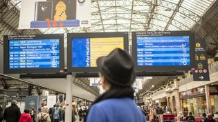 Le trafic SNCF sera encore très perturbé les 28 et 29 décembre. (HUGO PASSARELLO LUNA / HANS LUCAS / AFP)