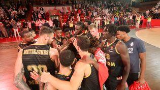 L'AS Monaco Basket signe un troisième succès en Euroligue. (CYRIL DODERGNY / MAXPPP)