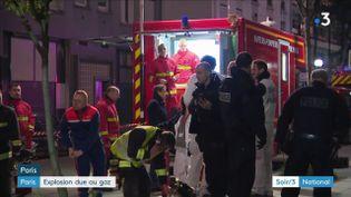 Les pompiers de Paris rue Riquet (France 3)