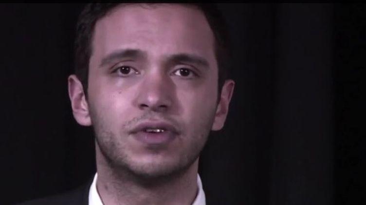 Le présentateur de France Info Djamel Mazi. (FRANCEINFO)