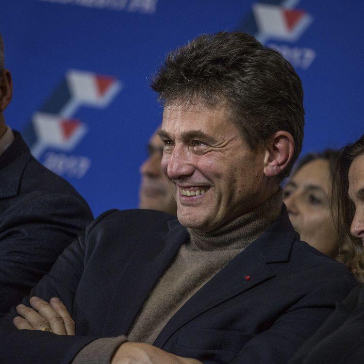 Henrie de Castries assiste au dernier meeting de François Fillon avant sa victoire à la primaire de la droite,le 25 novembre 2016. (HAMILTON / REA)